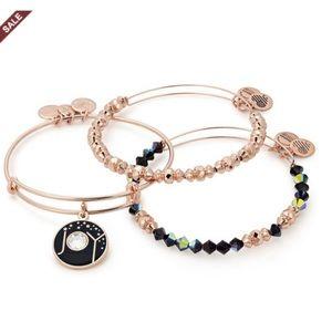Alex and Ani Rose Gold Bracelet Set